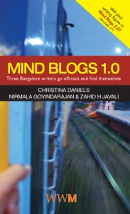 Cover of Mind Blogs 1.0 co-authored by Zahid H Javali